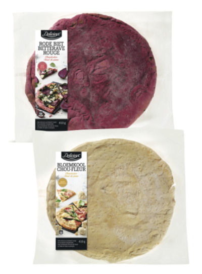 Lidl Delicieux Red Beet/Cauliflower Pizza Bases